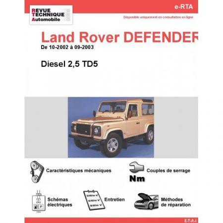 Defender D 02-03 Revue e-RTA Numerique Land-Rover