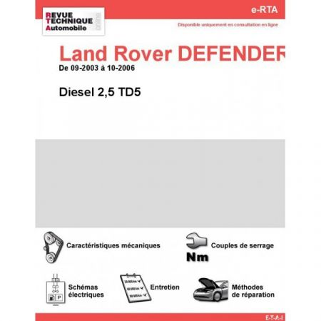 Defender D 03-06 Revue e-RTA Numerique Land-Rover