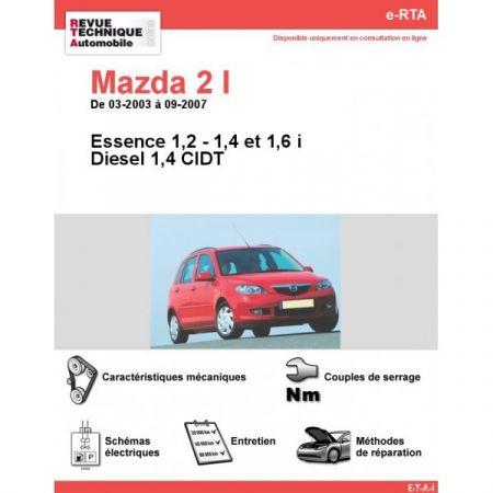 Mazda 2 03-07 Revue e-RTA Numerique Mazda