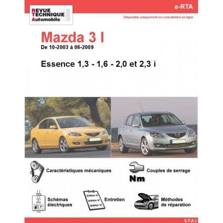 Mazda 3 E 03-09 Revue e-RTA Numerique Mazda