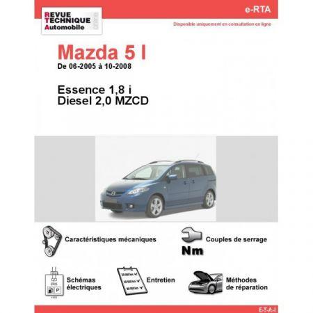 Mazda 5 05-08 Revue e-RTA Numerique Mazda