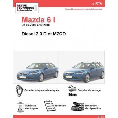 Mazda 6 D 05-08 Revue e-RTA Numerique Mazda