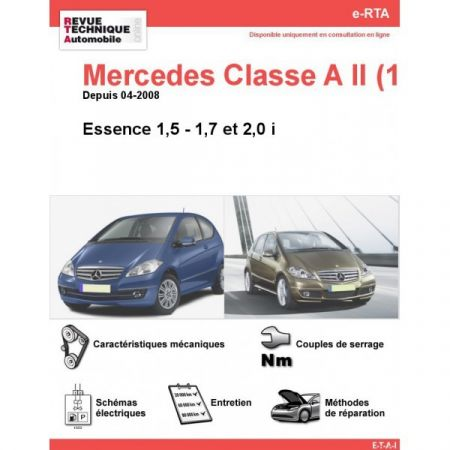 Classe A E 08- Revue e-RTA Numerique Mercedes