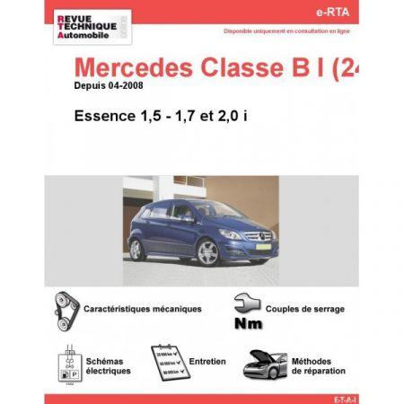 Classe B E 08- Revue e-RTA Numerique Mercedes