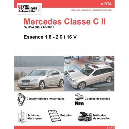 Classe C E 00-07 Revue e-RTA Numerique Mercedes
