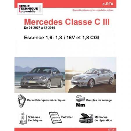 Classe C E 07-10 Revue e-RTA Numerique Mercedes