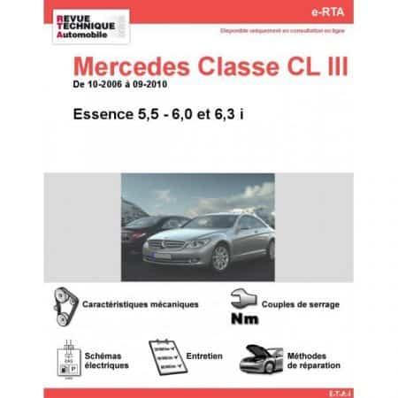 Classe CL E 06-10 Revue e-RTA Numerique Mercedes