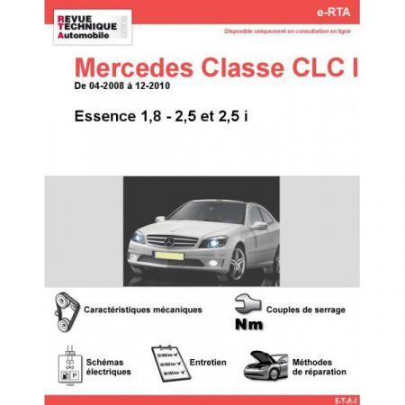 Classe CLC E 08-10 Revue e-RTA Numerique Mercedes