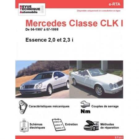 Classe CLK E 97-98 Revue e-RTA Numerique Mercedes