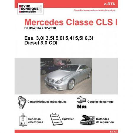 Classe CLS 04-10 Revue e-RTA Numerique Mercedes