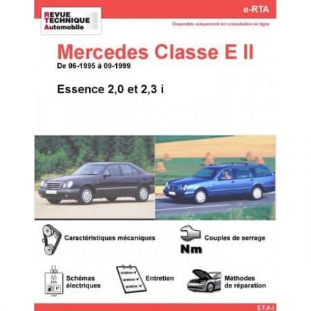 Classe E E 95-99 Revue e-RTA Numerique Mercedes
