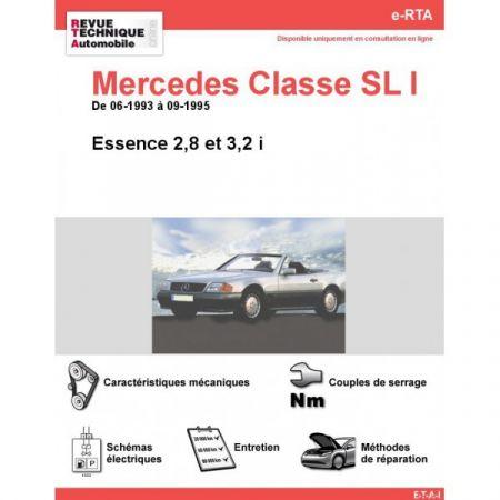 Classe SL E 93-99 Revue e-RTA Numerique Mercedes