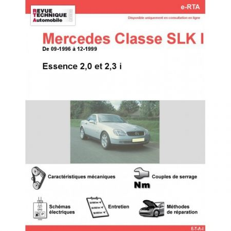 Classe SLK E 96-99 Revue e-RTA Numerique Mercedes
