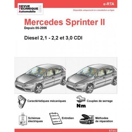 Sprinter D dep 06 Revue Technique Numerique Mercedes