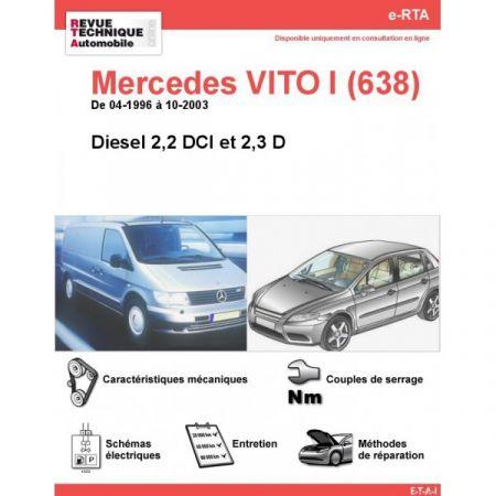 Vito D 96-03 Revue Technique Numerique Mercedes