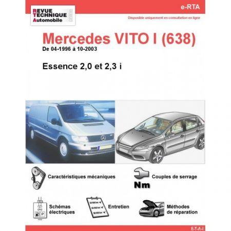 Vito E 96-03 Revue Technique Numerique Mercedes
