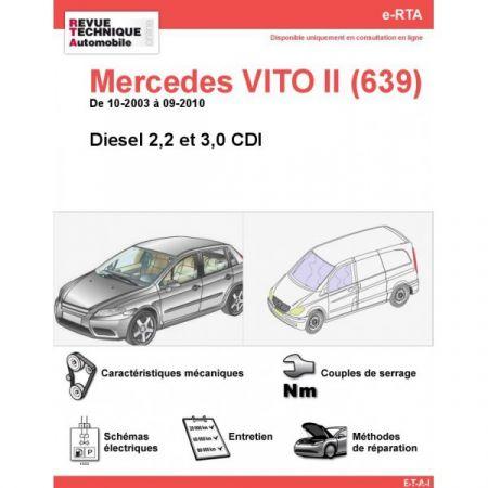 Vito D 03-10 Revue Technique Numerique Mercedes