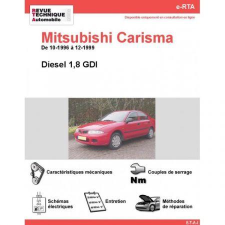Carisma D 96-99 Revue e-RTA Numerique Mitsubishi