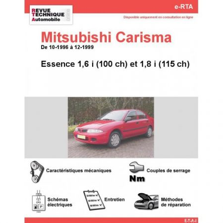 Carisma E 96-99 Revue e-RTA Numerique Mitsubishi