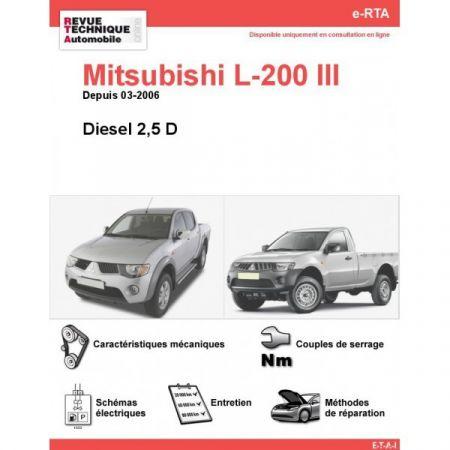 L200 D 06- Revue e-RTA Numerique Mitsubishi