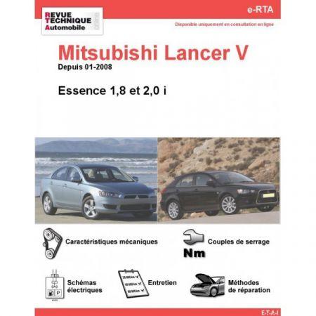 Lancer V E 08- Revue e-RTA Numerique Mitsubishi