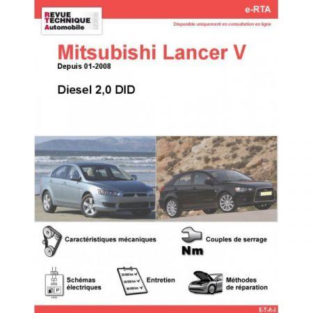 Lancer V D 08- Revue e-RTA Numerique Mitsubishi