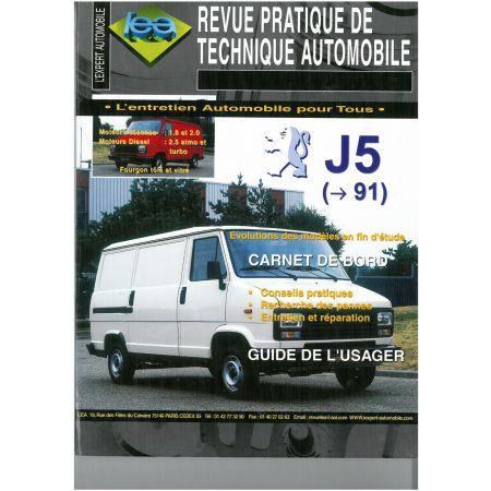 J5 C25 -91 Revue Technique Peugeot Citroen