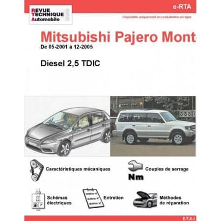 Montero D 01-05 Revue e-RTA Numerique Mitsubishi