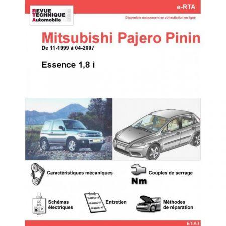 Pinin E 99-07 Revue e-RTA Numerique Mitsubishi