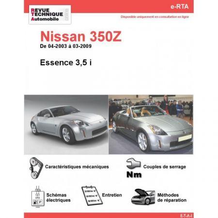 350Z E 03-09 Revue e-RTA Numerique Nissan