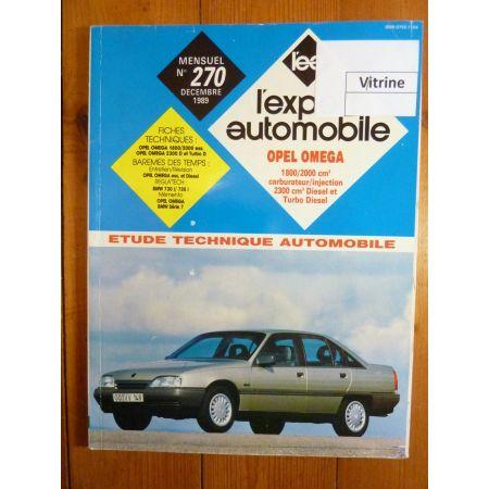 OMEGA A Revue Technique Opel