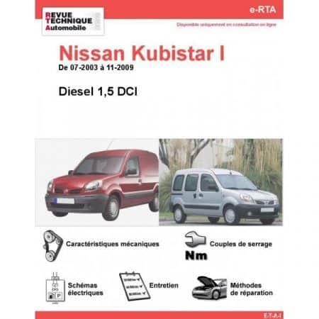 Kubistar D 03-09 Revue e-RTA Numerique Nissan