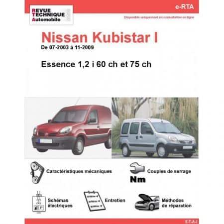 Kubistar E 03-09 Revue e-RTA Numerique Nissan