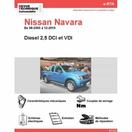 Navara D 05-10 Revue e-RTA Numerique Nissan