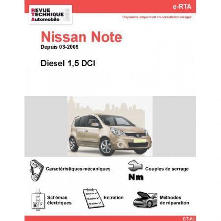 Note D 09- Revue e-RTA Numerique Nissan