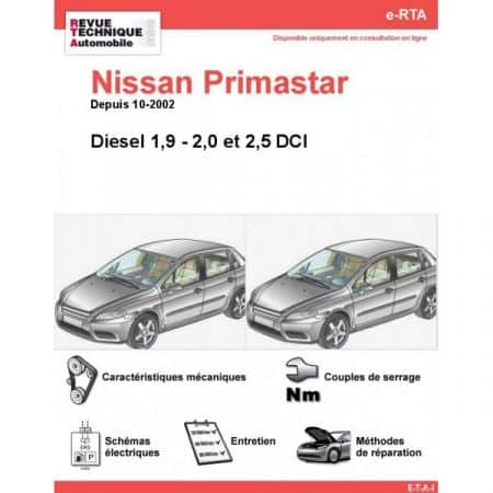 Primastar D 02- Revue e-RTA Numerique Nissan