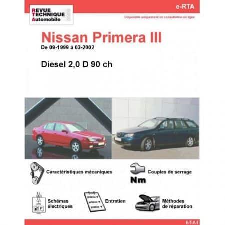 Primera D 99-02 Revue e-RTA Numerique Nissan