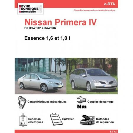 Primera E 02-06 Revue e-RTA Numerique Nissan