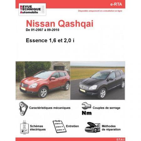 Qashqai E 07-10 Revue e-RTA Numerique Nissan