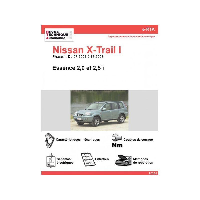 nissan x trail phase ii essence de 07 2001 a 12. Black Bedroom Furniture Sets. Home Design Ideas