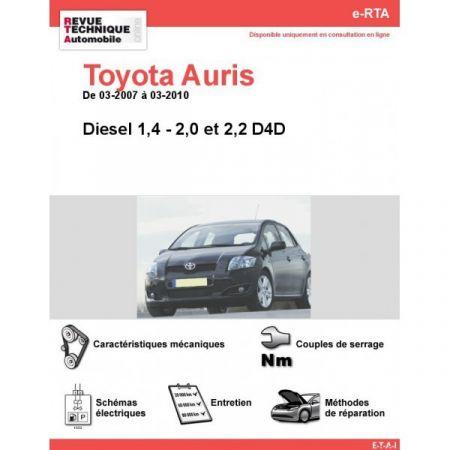 Auris D 07-10 Revue e-RTA Numerique Toyota