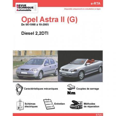 Astra D 98-05 Revue e-RTA Numerique Opel
