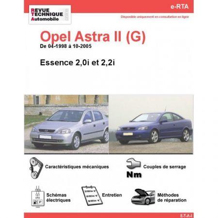 Astra E 98-05 Revue e-RTA Numerique Opel