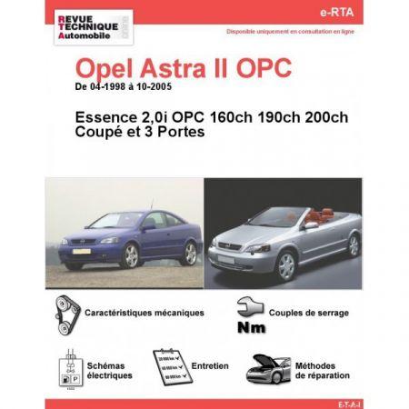 Astra OPC 98-05 Revue e-RTA Numerique Opel