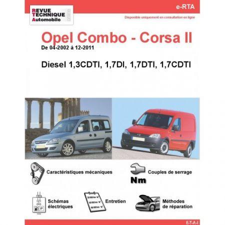 Combo-Corsa D 02-11 Revue e-RTA Numerique Opel