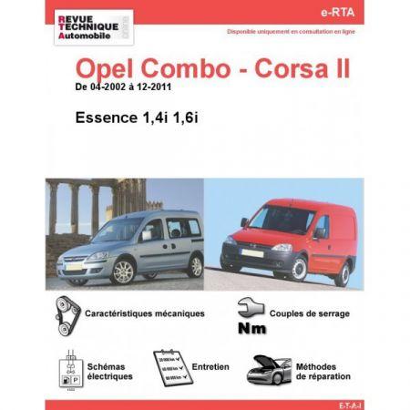 Combo-Corsa E 02-11 Revue e-RTA Numerique Opel