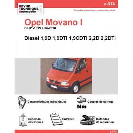 Movano D 99-10 Revue e-RTA Numerique Opel