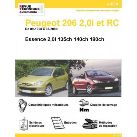 206 E 98-09 Revue e-RTA Numerique Peugeot