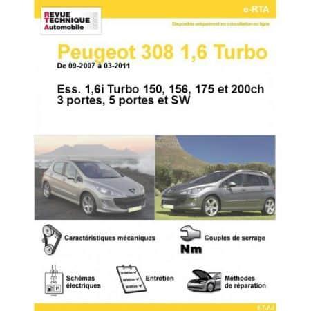 308 E 07-11 Revue e-RTA Numerique Peugeot
