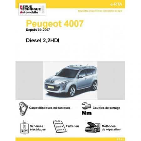 4007 D 07- Revue e-RTA Numerique Peugeot